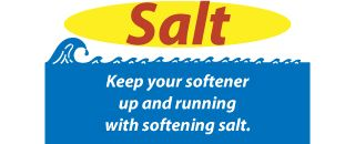 Keep your softener up and running with softening salt.