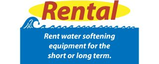 Rent water softening equipment for the short or long term.